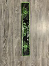 Patron Tequila Black And Green Bee rubber Rail Runner Bar Mat Brand New.