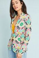 Women's Anthropologie aldomartins Floral Intarsia Blazer Size Small NWT $198