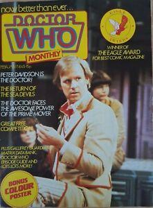 Doctor Who Monthly Magazine #61 Vintage Comic Magazine UK