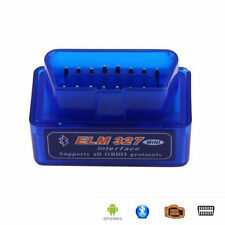 Mini OBD2 II ELM327 V2.1 Bluetooth Car Scanner Code Reader Scan Tool For Android