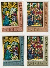 1969 Antigua - Christmas - Set Four Stamps