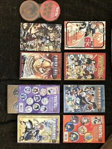 Lot Manga Fairy Tail Collector Edition Limitée Tomes 57 - 60 - 62 - 63
