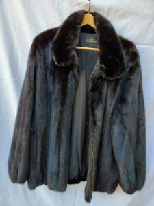 Modele Chombert Mink Fur Coat - Size M