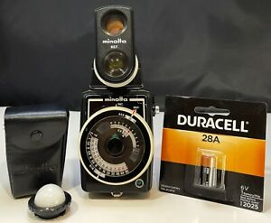 Minolta Auto Meter II - With Dome attachment & Ref 10° Viewfinder W/New Battery
