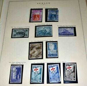 Italien ab 1945: Zwei gute Sammlungen aus Nachlassauflösung