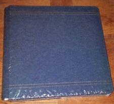 NEW Creative Memories 12x12 Denim Blue Jean Scrapbook Album Coverset Sealed