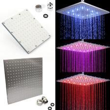 LED Duschkopf 3Farben Duschbrause Handbrause + Licht Farbwechsel Brausekopf SALE