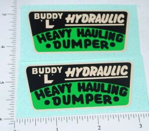 Buddy L Heavy Hauling Dumper Sticker Set      BL-024