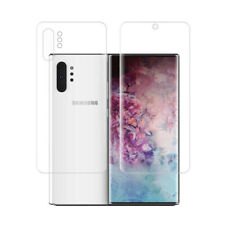 Samsung Galaxy Note 10 Plus Note 10 Soft Full Cover Front Back Screen Protector