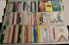 New ListingLot of 92 Vintage Sheet Music Books & Leaflets Praise Worship Gospel Christian