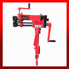 WNS Hand Swager Jenny Bead Roller Rotary Machine 177mm Throat 6 Sets of Rolls