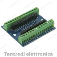 Screw shield NANO V3.0 adattatore morsettiera connettori (Arduino-Compatibile)