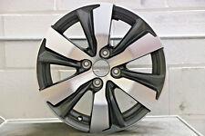 "1 x Genuine Original Peugeot 2008 208 16"" Grey Diamond Cut Alloy wheel"