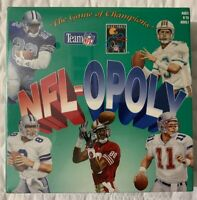 Vintage NFL-OPOLY Game by USA Games Inc Very Rare First Edition Variant Sealed