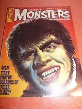 Famous Monsters of Filmland Magazine #34 August 1965