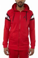 Jordan Jumpman Air Full Zip Hoodie Mens AR2248-687 Red Black Hoody Size L