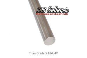 Titanwelle 8Ømm Länge 500mm , Titanstab - Titan Welle  Rundmaterial