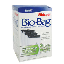 Whisper Bio-Bag Cartridge - Medium - 3 pk. - Assembled - Tetra