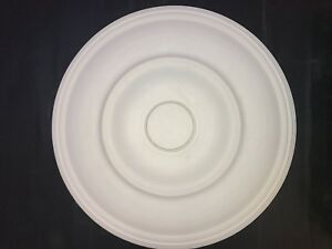 Plaster ceiling rose, Traditional Victorian design. 615mm wide. CP47