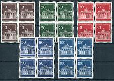 Berlin 286 - 290 VB ** postfrisch Viererblock Brandenburger Tor Mi. 50 Euro MNH