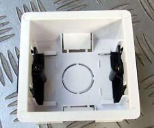 Confezione di 4 scatole singola rivestimento a Secco Taglierina per Socket 230v/Switch Rete Elettrica contatto.