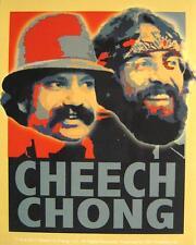 """CHEECH & CHONG AUFKLEBER / STICKER # 1 """"PORTRAITS"""" - PVC"""