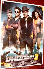 DHOOM 3 (2013) POSTER #2 BOLLYWOOD AAMIR KHAN  KATRINA KAIF