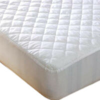 Extra Deep Quilted Microfibre Mattress Protector Fitted Sheet Bedding Cover NEW