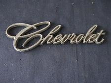 """""""  Chevrolet """"   Emblem  Metal Badge Vintage STICK ON TRIM"""