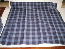 Tommy Hilfiger Shelburne Paisley Blue Plaid Check Euro European Pillow Sham New