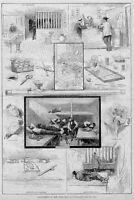 OPIUM SMOKING PIPE BOWL GAMBLING ROOM CHINESE OPIUM PLANT NEW YORK  1881 HISTORY