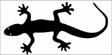 Auto Aufkleber Sticker Tuning Schmuck Gecko Echse vers Farben 10x20cm Verzierung
