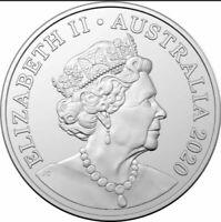 🇦🇺2020 Australian 20 Cent Coin NEW EFFIGY, Sixth Effigy From Mint Roll🔥Scarce