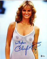 Cheryl Tiegs Swimsuit Signed 8x10 Photo Autoraph BAS Beckett COA Authentic *15