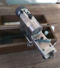 Hermann Schmidt/Kuhn Clear View Radius & Angle Dresser Wooden Case Incredible 10