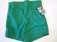 """NOS Vtg '80's Wilson Men's Coaches Shorts Size Small 28""""-29"""" Kelly Green USA"""