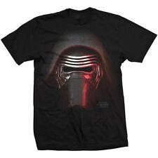 Star Wars Kylo Big Head Blk T-Shirt Unisex Taille / Size XXL ROCK OFF