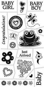 Cloud 9 BABY 4x8 stamp (18 pieces)