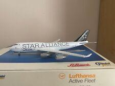 Gemini Jets 1:400 Lufthansa 747-400 'Star Alliance Livery' D-ABTH