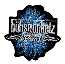 BOHSE ONKELZ LOGO EMBROIDERED IRON ON PATCH oi! skinhead music