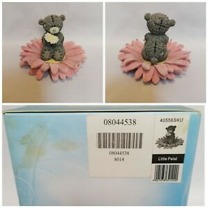 Me To You Figurine, Little Petal, Boxed, 40556SKU, Pink Flower