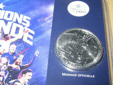 10 Euro Coin CHAMPIONS DU MONDE PARIS FRANCE  2018   **RARE**      FREE POST