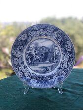 "Wedgwood Pomona College Bridges Hall of Music 10 3/4"" Dinner Plate Blue"