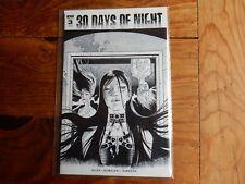 30 Days of Night #3 Retailer Incentive variant 1:10 IDW Comics 2018