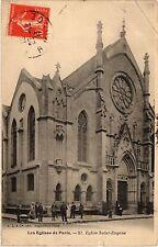 CPA Les Eglises de Paris 9e - Eglise Saint-Eugene (273808)