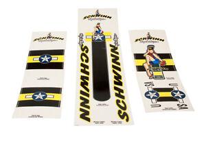Schwinn BMX Complete Decal Set Troy Lee Design Sticker Kit 1998 NOS in Packaging
