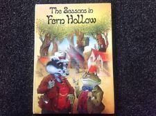 """The Seasons in Fern Hollow"" John Patience hardcover Vintage children's first ed"