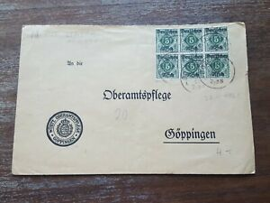 STAMPS COVER GERMANY REICH POSTAL HISTORY NICE LOT OF/008