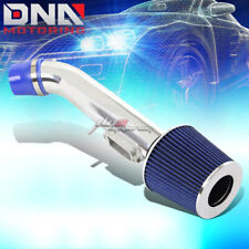 SHORT RAM AIR INTAKE ALUMINUM INDUCTION+BLUE CONE FILTER FOR 98-00 GS 300 3.0