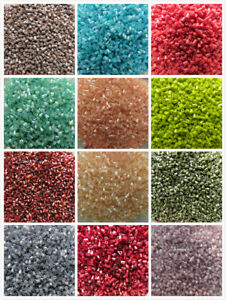 200 -1000 Seed/Bugle Beads 3x2mm. 17Colours. Crafts Jewellery Making. UK Seller
